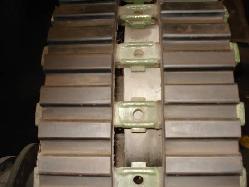 Orugas de metal y goma para vehiculos militares Productos de goma