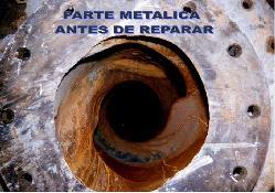 Reparacion de partes metálicas Productos de goma