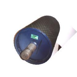 Rodillos y  tambores para cintas transportadoras Productos de goma